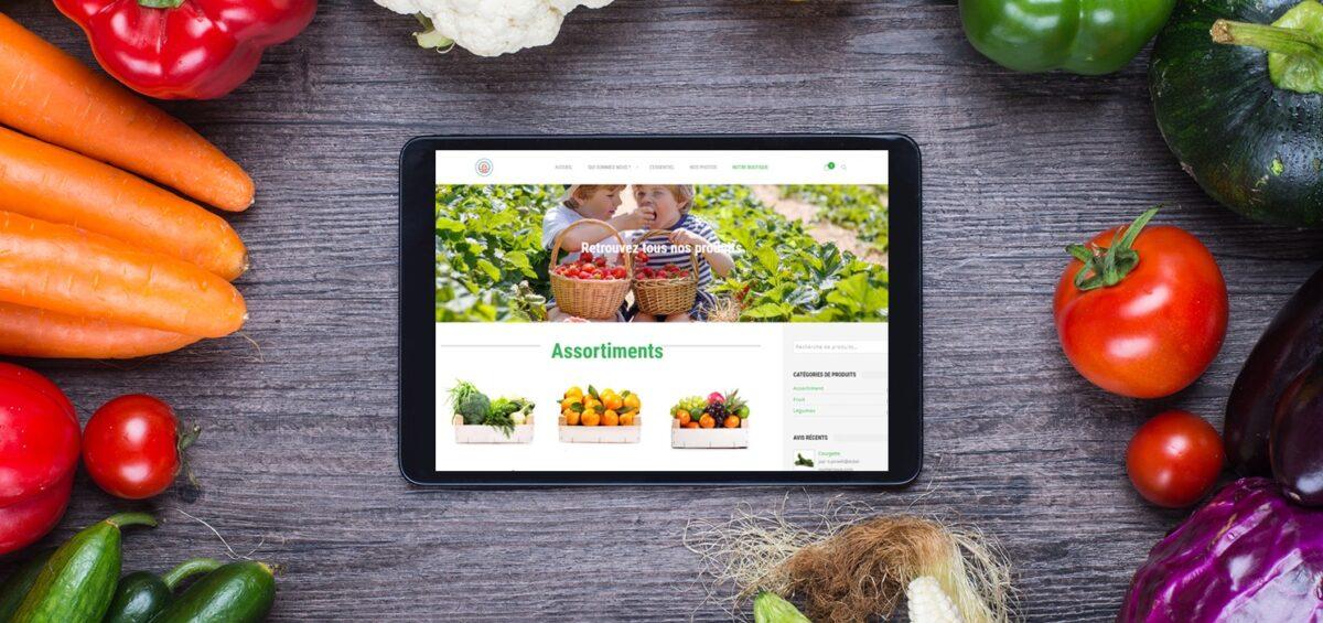 plateforme internet marché bio